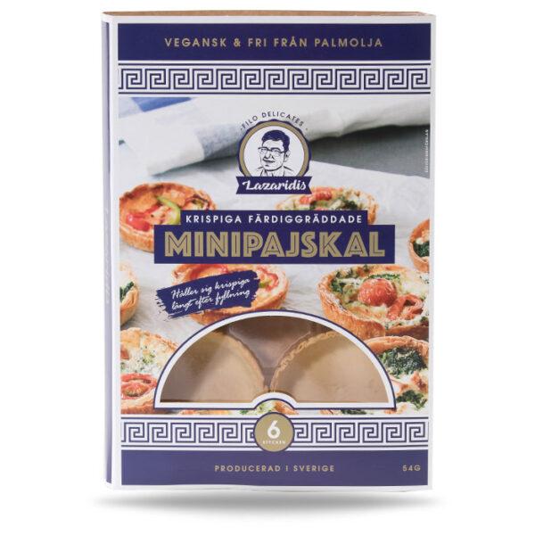 Bilden visar förpackning till Minipajskal från Filo Delicates AB